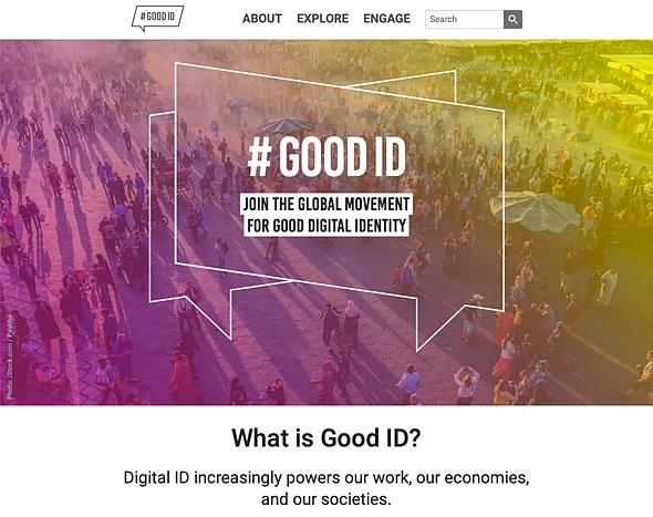 Screenshot of the site